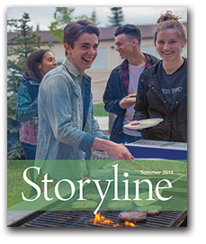 Storyline Magazine Summer 2018 cover