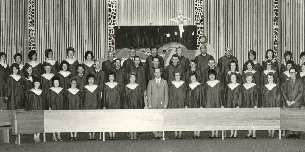 1970s FAC Christmas Choir
