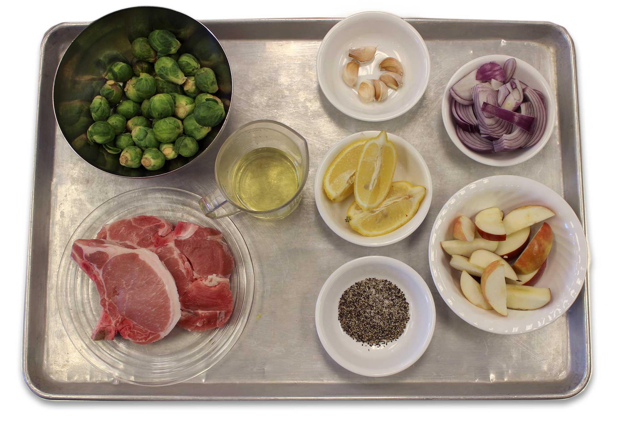 Lemon Garlic Pork Chops Ingredients