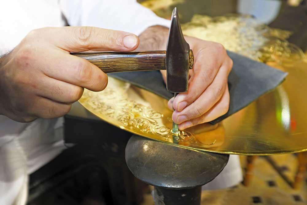 Hammering Gold