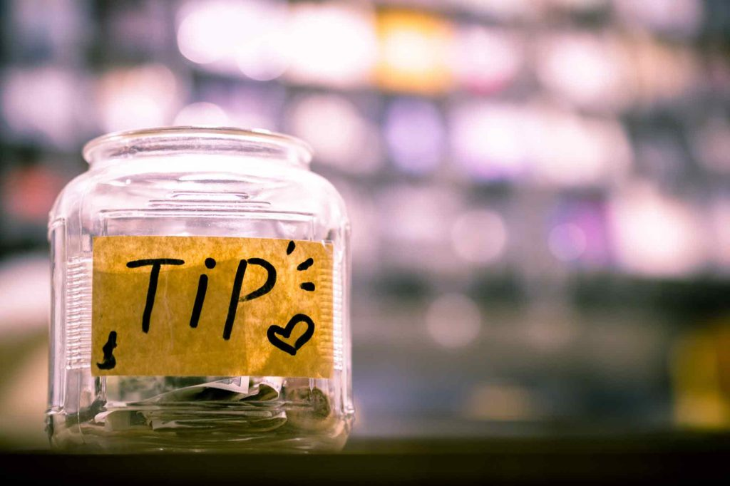 Money or Tip Jar