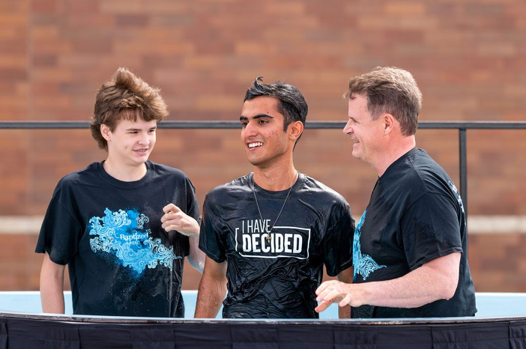 baptism: male youth